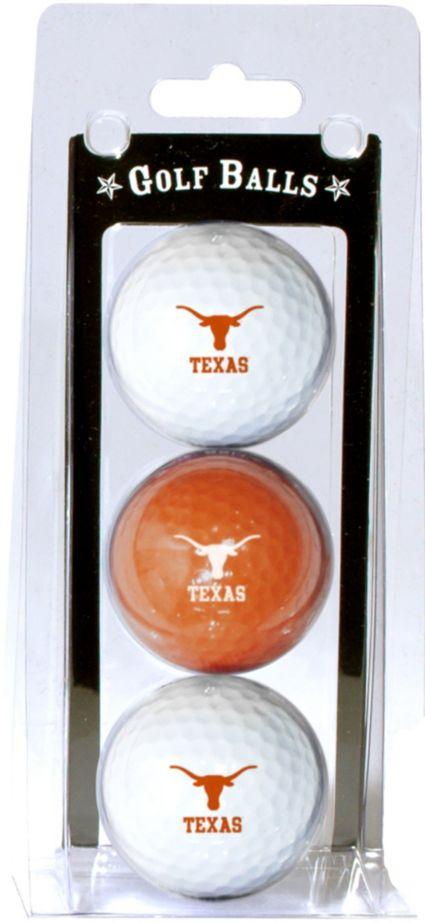 Team Golf Texas Longhorns Golf Balls - 3 Pack