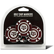 Team Golf Texas A&M Aggies Poker Chips Ball Markers - 3-Pack