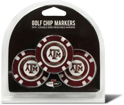 Team Golf Texas A&M Aggies Golf Chips - 3 Pack