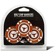 Team Golf Texas Longhorns Poker Chips Ball Markers - 3-Pack