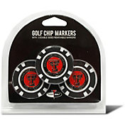 Team Golf Texas Tech Red Raiders Poker Chips Ball Markers - 3-Pack