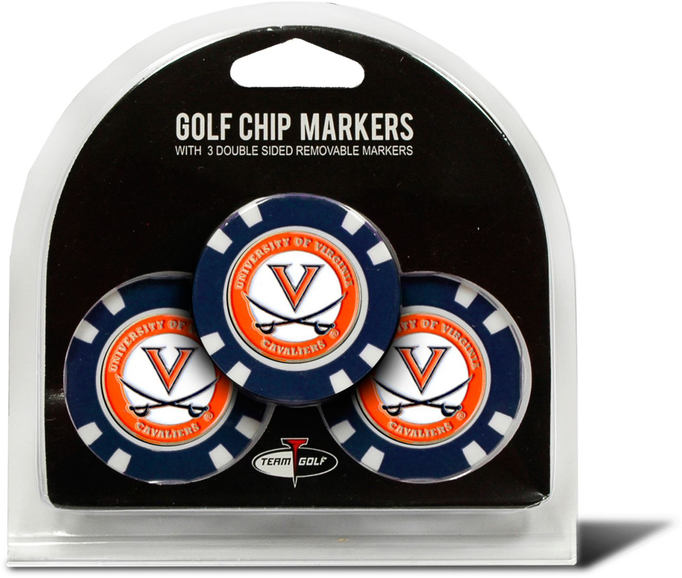 Team Golf Virginia Cavaliers Golf Chips - 3 Pack