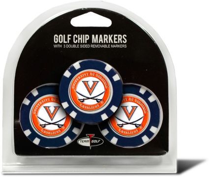 Team Golf Virginia Cavaliers Golf Chips - 3 Pack