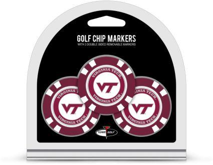 Team Golf Virginia Tech Hokies Golf Chips - 3 Pack