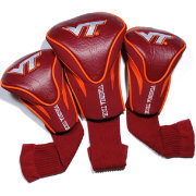 Team Golf Virginia Tech Hokies Contour Headcovers - 3-Pack