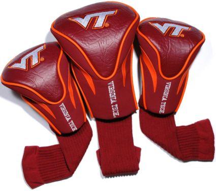 Team Golf Virginia Tech Hokies Contour Sock Headcovers - 3 Pack