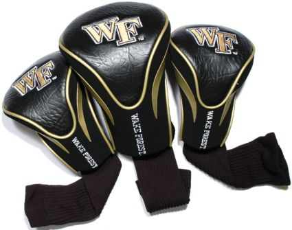 Team Golf Wake Forest Demon Deacons Contour Sock Headcovers - 3 Pack