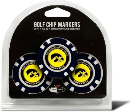 Team Golf Iowa Hawkeyes Golf Chips - 3 Pack