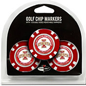 Team Golf Iowa State Cyclones Poker Chips Ball Markers - 3-Pack