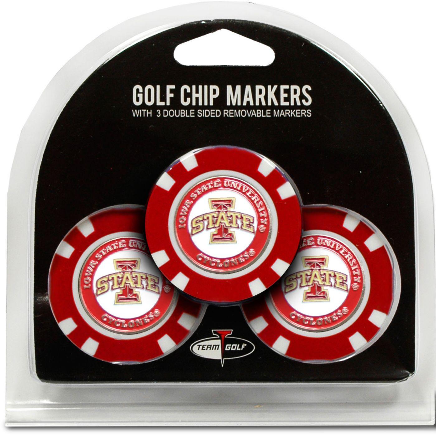Team Golf Iowa State Cyclones Golf Chips - 3 Pack
