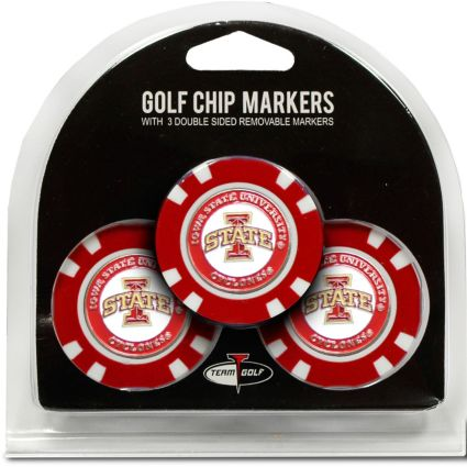 Team Golf Iowa State Cyclones Golf Chips - 3 Pack