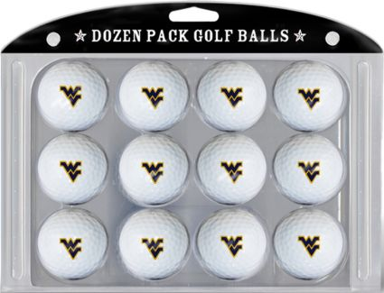 Team Golf West Virginia Mountaineers Golf Balls