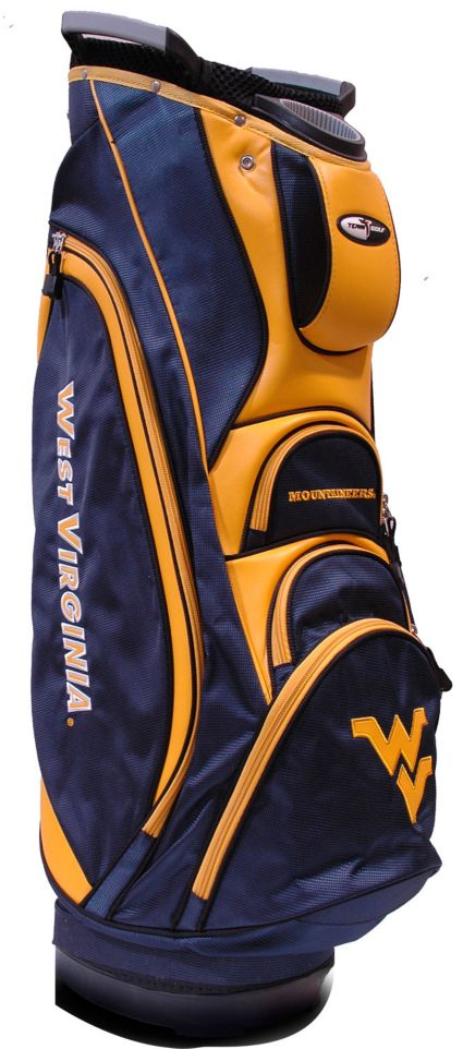 Team Golf Victory West Virginia Mountaineers Cart Bag