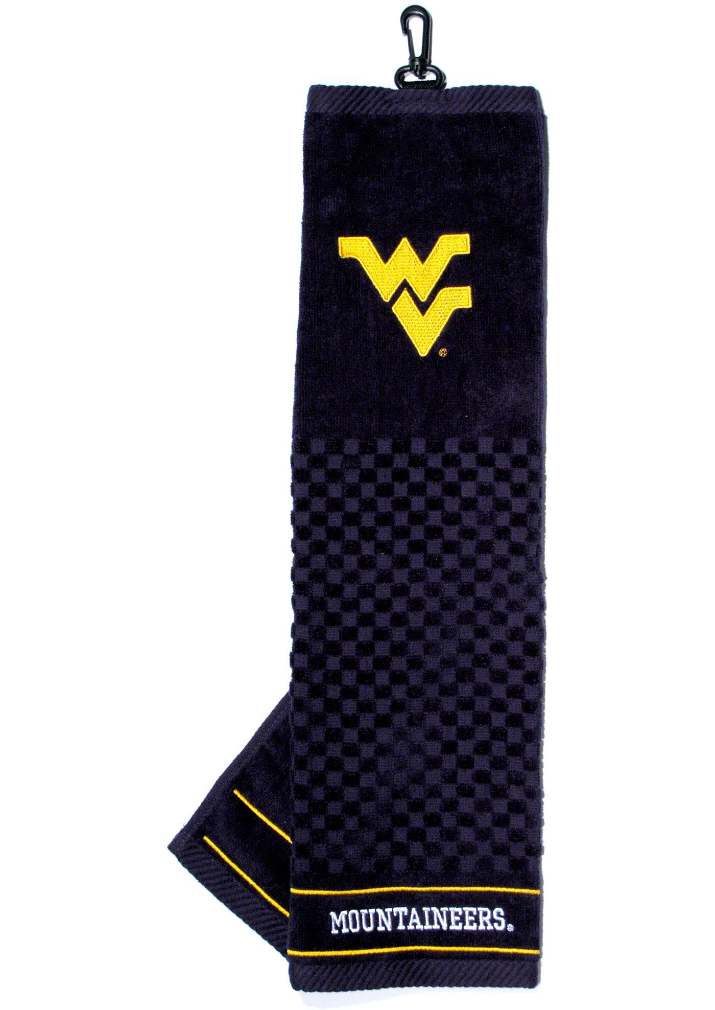 Team Golf West Virginia Mountaineers Embroidered Towel