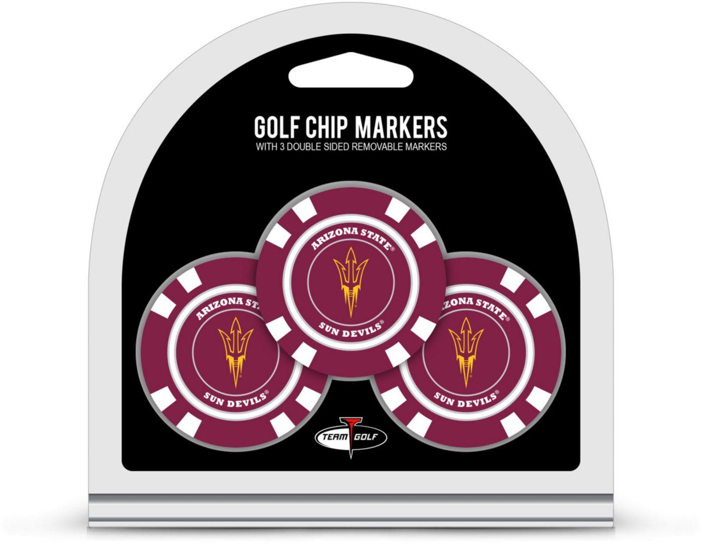Team Golf Arizona State Sun Devils Golf Chips - 3 Pack