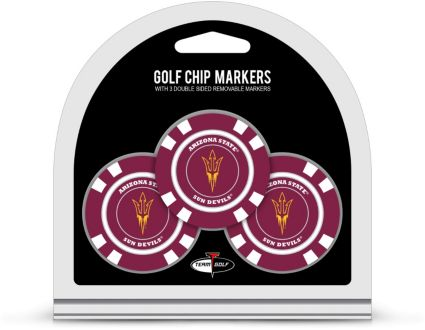 Team Golf Arizona State Sun Devils Golf Chips - 3 Pack