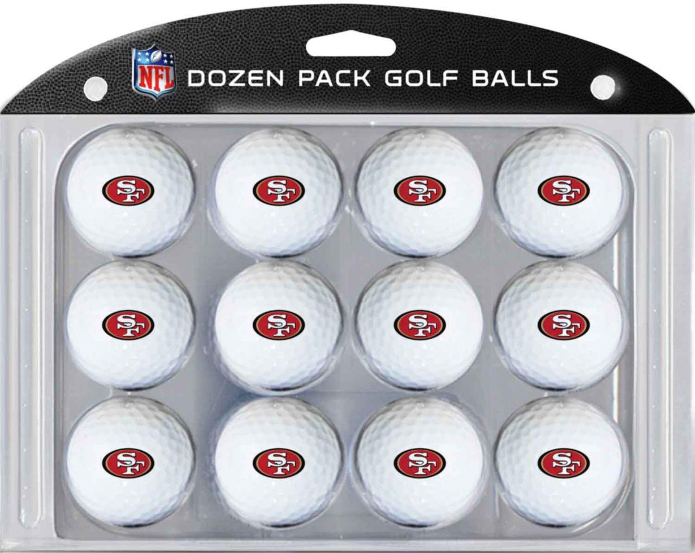 Team Golf San Francisco 49ers Golf Balls