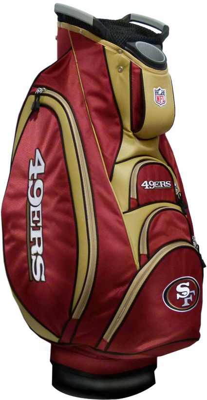 Team Golf Victory San Francisco 49ers Cart Bag