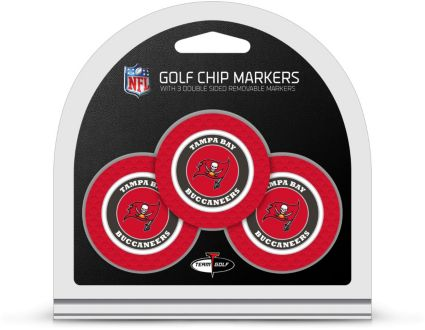 Team Golf Tampa Bay Buccaneers Golf Chips - 3 Pack
