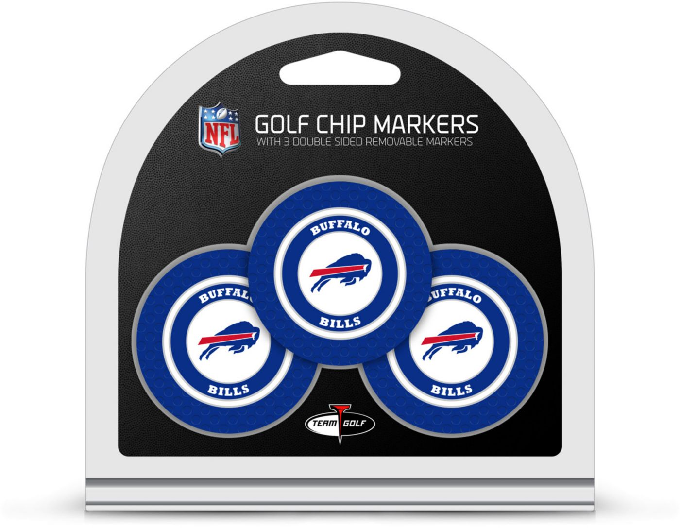 Team Golf Buffalo Bills Golf Chips - 3 Pack