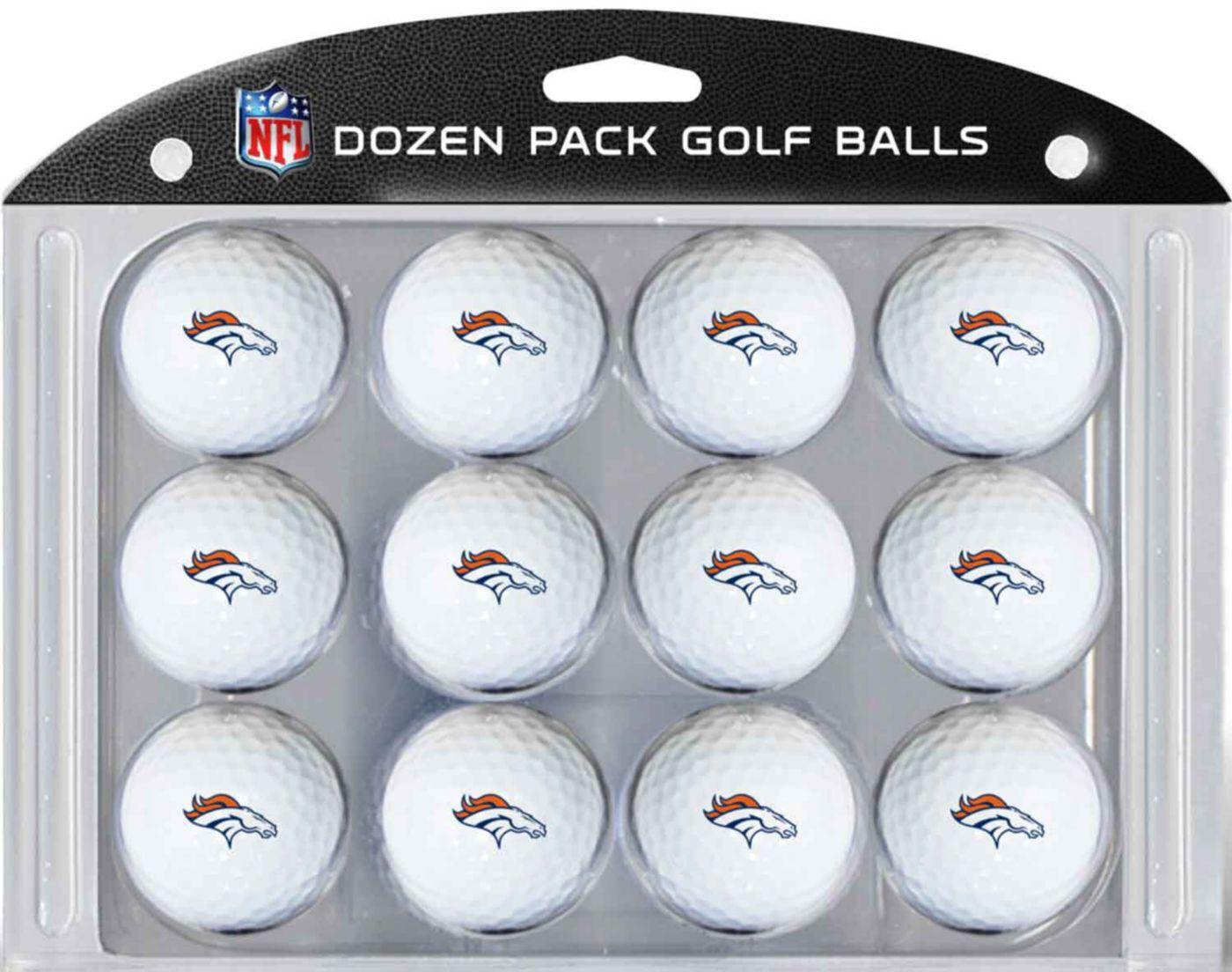 Team Golf Denver Broncos Golf Balls