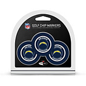 Team Golf San Diego Chargers Poker Chips Ball Markers - 3-Pack