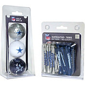 Team Golf Dallas Cowboys 3 Ball/50 Tee Combo Gift Pack