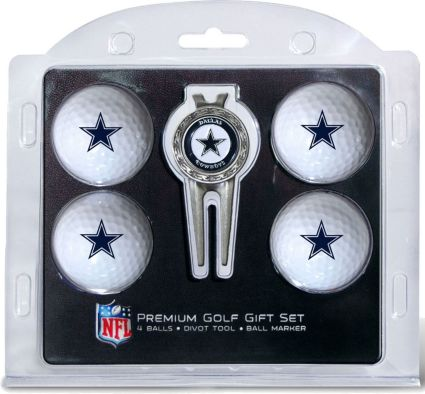 Team Golf Dallas Cowboys 4-Ball Gift Set