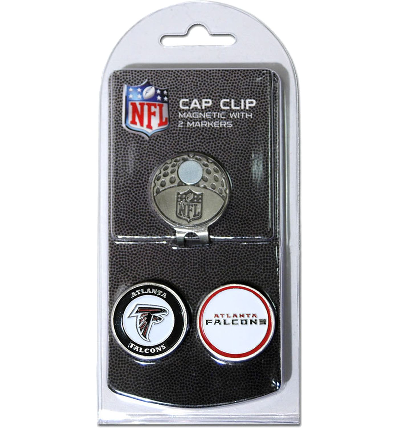 Team Golf Atlanta Falcons Two-Marker Cap Clip