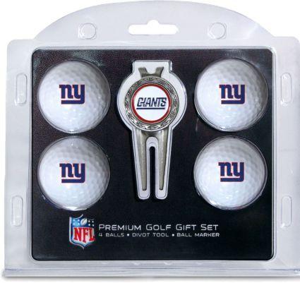 Team Golf New York Giants Premium Golf Gift Set