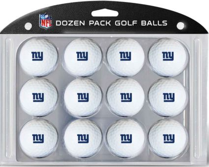 Team Golf New York Giants Golf Balls
