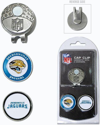 Team Golf Jacksonville Jaguars Two-Marker Cap Clip