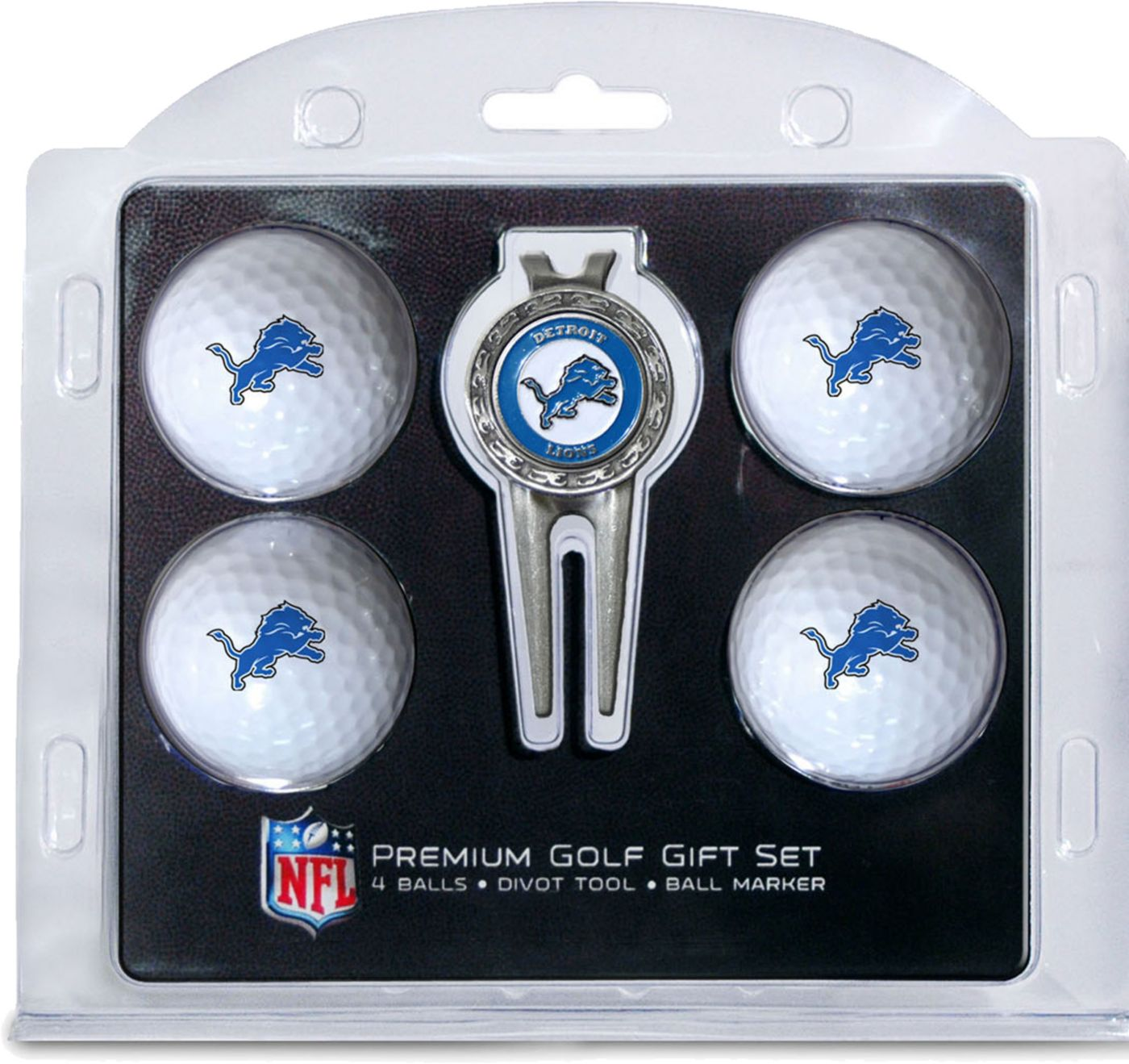 Team Golf Detroit Lions Premium Golf Gift Set