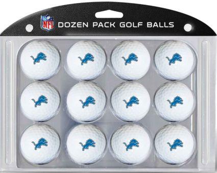 Team Golf Detroit Lions Golf Balls