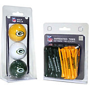 Team Golf Green Bay Packers 3 Ball/50 Tee Combo Gift Pack