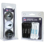 Team Golf Carolina Panthers 3 Ball/50 Tee Combo Gift Pack