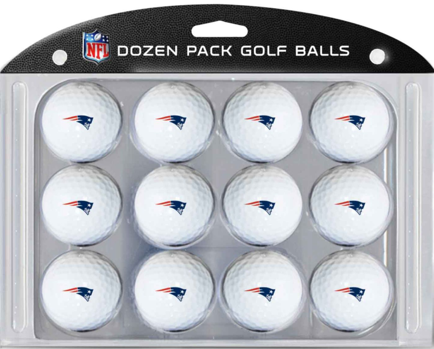 Team Golf New England Patriots Golf Balls