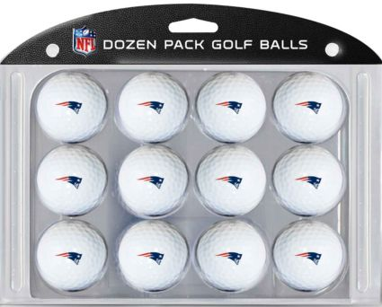 Team Golf New England Patriots Golf Balls