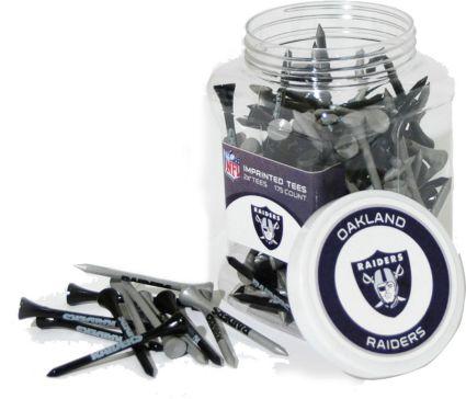 Team Golf Oakland Raiders Tee Jar - 175 Pack