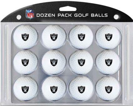 Team Golf Oakland Raiders Golf Balls