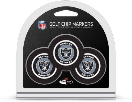 Team Golf Oakland Raiders Golf Chips - 3 Pack