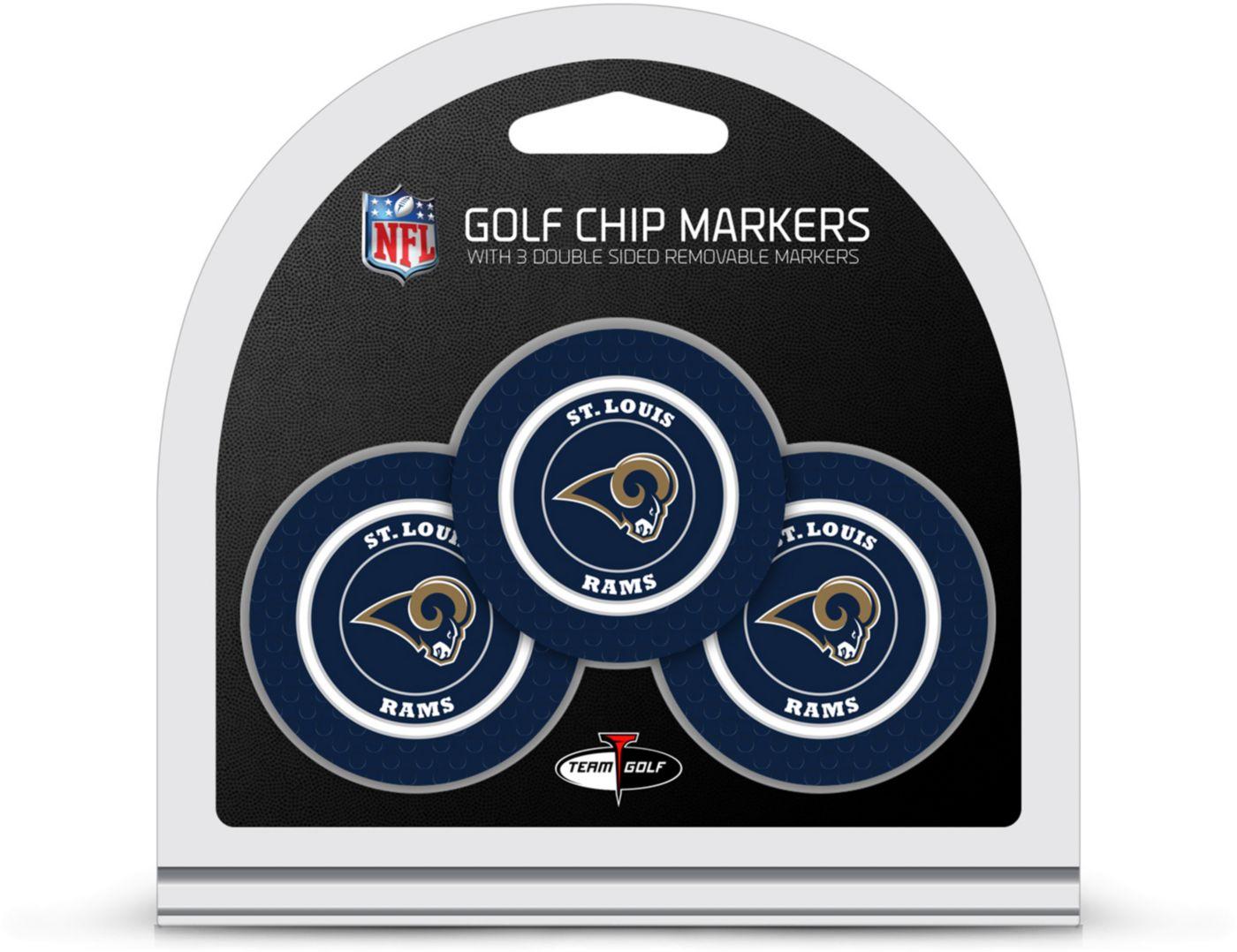 Team Golf Los Angeles Rams Golf Chips - 3 Pack