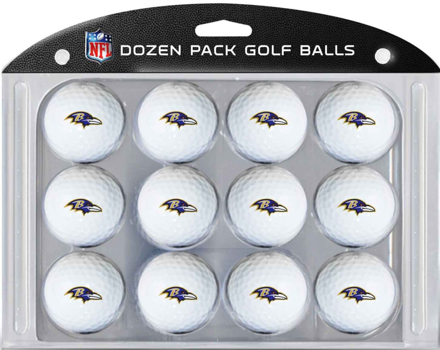 Team Golf Baltimore Ravens Golf Balls – 12 pack