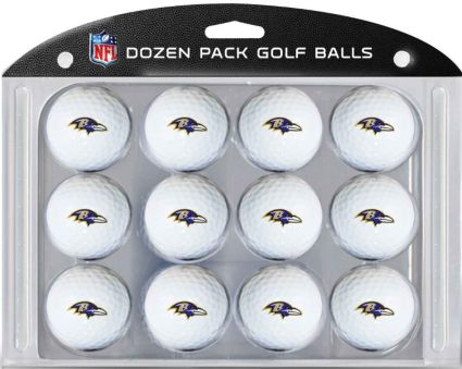 Team Golf Baltimore Ravens Golf Balls – 12 pack