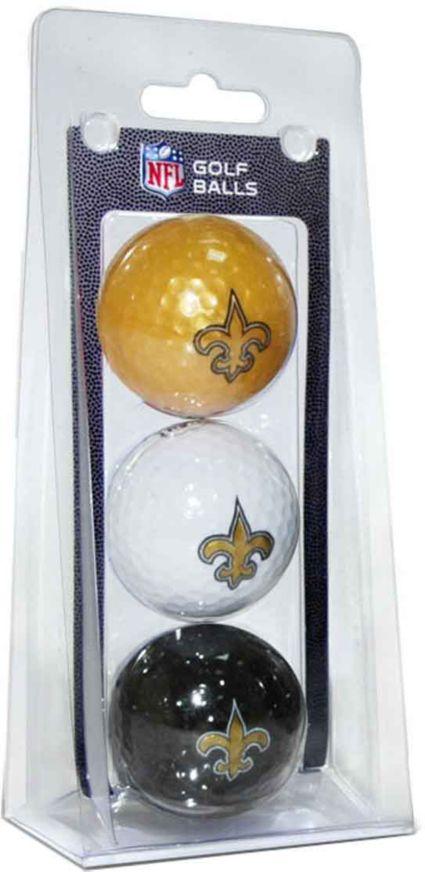 Team Golf New Orleans Saints Golf Balls - 3 Pack