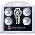 Team Golf Pittsburgh Steelers Premium Golf Gift Set