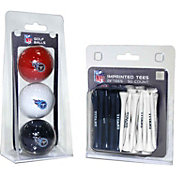Team Golf Tennessee Titans 3 Ball/50 Tee Combo Gift Pack