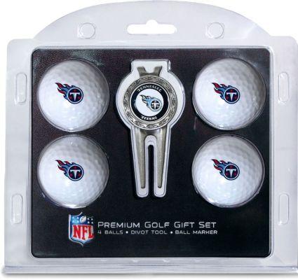Team Golf Tennessee Titans Premium Golf Gift Set