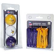 Team Golf Minnesota Vikings 3 Ball/50 Tee Combo Gift Pack