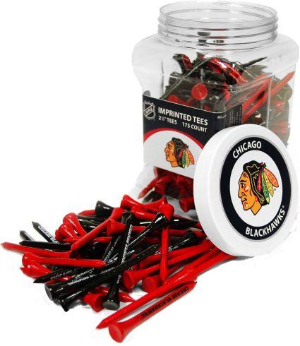 Team Golf Chicago Blackhawks Tee Jar - 175 Pack